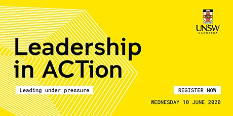 Leadership in ACTion - Leading under pressure tickets