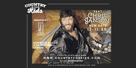 Country for Kids featuring Chris Janson tickets