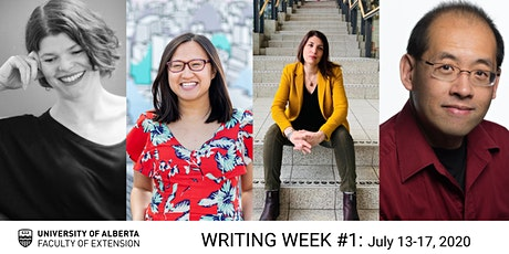 UAlberta Extension: Writing Week #1 (July 13–17) tickets