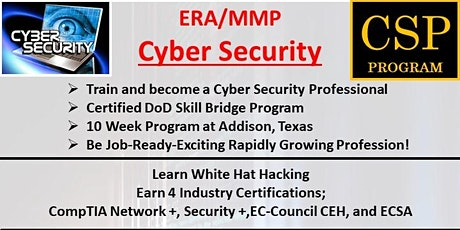 Cyber Security Bootcamp Overview tickets