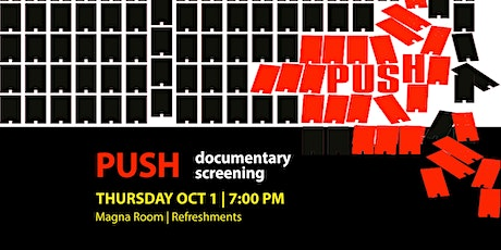 PUSH: documentary screening tickets