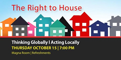 The Right to Housing tickets