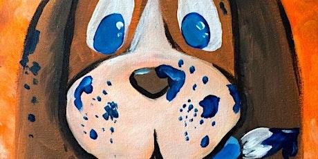 LIVE Kids Virtual Paint Class - Woof! tickets