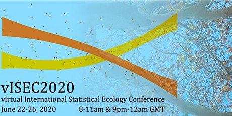 vISEC2020 International Statistical Ecology Conference tickets