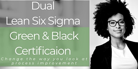 Lean Six Sigma Greenbelt & Blackbelt Training in Washington tickets