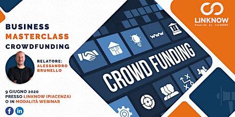 Business Masterclass Crowdfunding biglietti