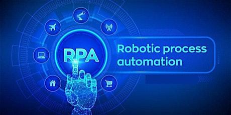 4 Weeks Robotic Process Automation (RPA) Training in Pleasanton tickets