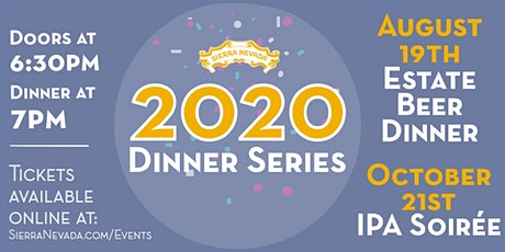 Sierra Nevada Mills River 2020 Beer Dinner Series: Estate tickets