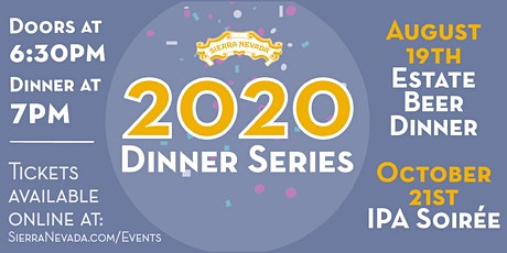 Sierra Nevada Mills River 2020 Beer Dinner Series: IPA Soiree tickets