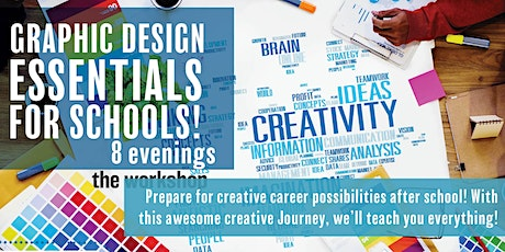 Graphic Design Essentials for Schools - Modules and full event tickets
