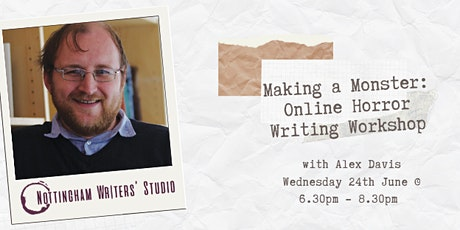 Making a Monster: Online horror writing workshop tickets