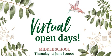 Green School virtual open day for Middle School tickets