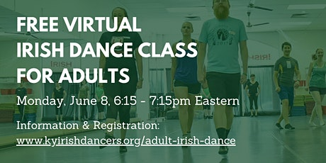 Free Virtual Irish Dance Class for Adults tickets