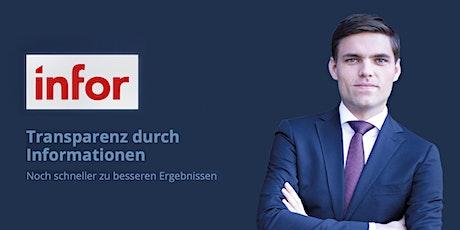 Infor BI Rules und Accellerators - Schulung in Zürich Tickets