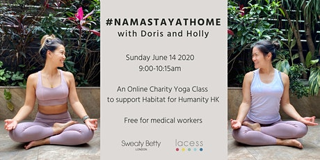 #namastayathome with Doris and Holly: Yin Yang Yoga (Online via Zoom) tickets