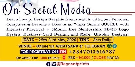 2D/3D Logo & Business Card Design  Tutorial tickets