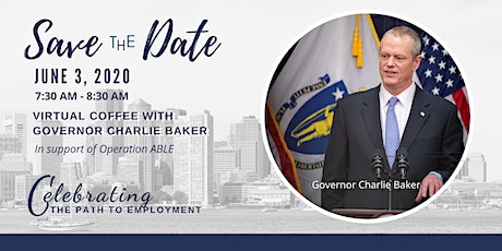 'Virtual' Coffee with Governor Charlie Baker tickets
