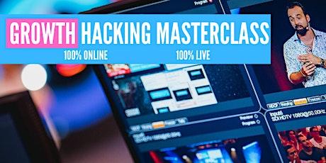 Growth Hacking Masterclass ENGLISH tickets