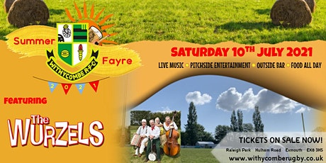 WRFC Summer Fayre - Featuring The Wurzels tickets