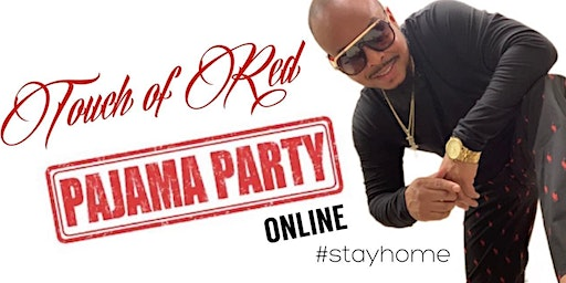 Touch of Red Pajama Party