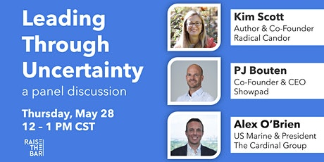 Leading Through Uncertainty (a panel discussion) tickets