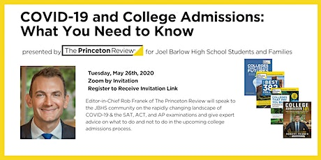 JBHS: COVID-19 and College Admissions: What You Need to Know tickets
