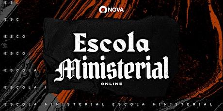 ESCOLA DE TREINAMENTO MINISTERIAL bilhetes