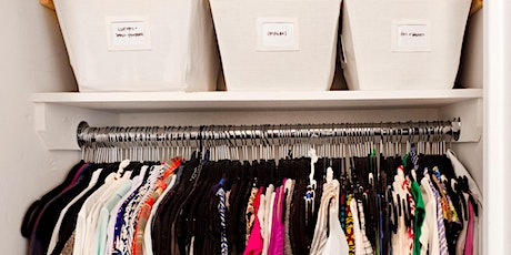 CLOSET CLEANING Master Class with apartmentjeanie!! tickets