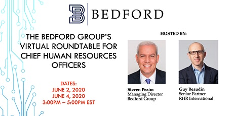 The Bedford Group's Roundtable for Chief Human Resources Officers tickets