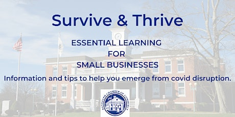 Survive & Thrive: Essential Learning - How Safe Are You? Needed Insurance tickets
