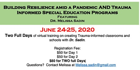 Building Resilient Students in a Pandemic AND TI Special Education Programs tickets