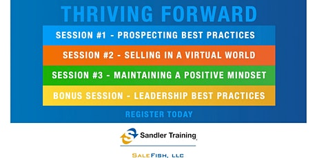 THRIVING FORWARD with Sandler Training tickets