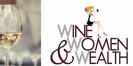 Virtual Wine, Women & Wealth® tickets