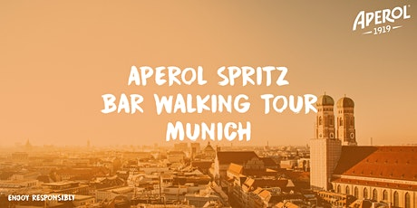 Aperol Spritz Bar Walking Tour Munich | 3x2 Drinks Package Check-In Café Reitschule Tickets