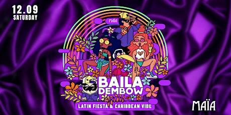 Baila Dembow | Latin Reggaeton in Maïa Amsterdam tickets