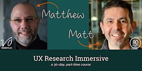 UX Research Immersive tickets