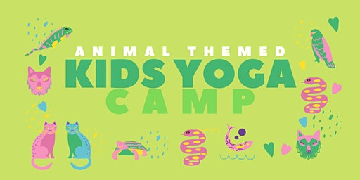 Animal-Themed Kids Yoga Camp