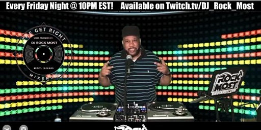 The Get Right Mixshow with DJ Rock Most