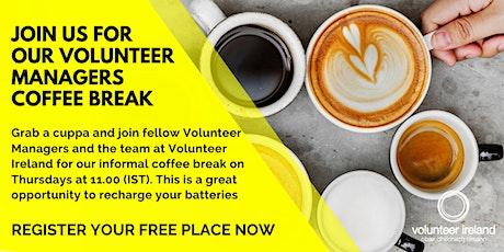 Volunteer Managers Online Coffee Break tickets