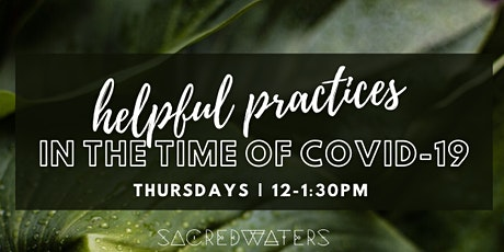 Helpful Practices in the time of Covid-19: Lunch with Larry tickets