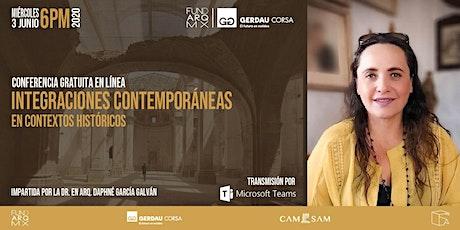 WEB Integraciones Contemporáneas en Contextos Históricos  - Dapne Garcia entradas