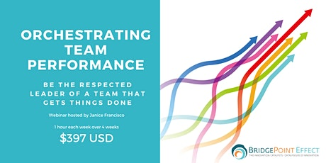 Orchestrating Team Performance tickets