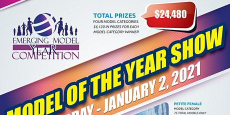 FASHION MODEL OF THE YEAR COMPETITION 2021 SHOW IN NEW YORK CITY tickets