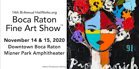 Boca Raton Fine Art Show - 3rd fall tickets
