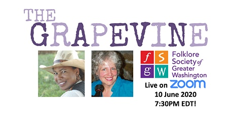 THE GRAPEVINE JUNE SHOW LIVE ON ZOOM  tickets