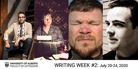 UAlberta Extension: Writing Week #2 (July 20–24) tickets