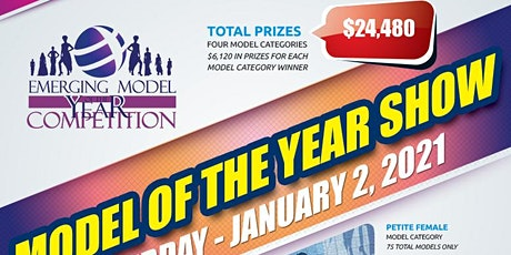REGISTRATION SIGN UP - 2021 EMERGING MODEL OF THE YEAR COMPETITION SHOW IN NEW YORK CITY tickets