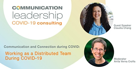 Communication and Connection During the COVID Crisis | Claudia Chang tickets