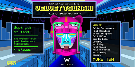 Velvet Tsunami 2020 Mega Party tickets