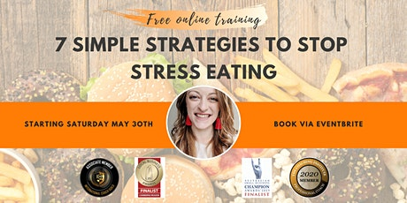 Seven Simple Steps To Stop Stress Eating tickets